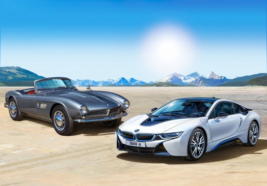 Geschenkset 100 Jahre BMW