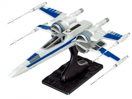 X-Wing Raumschiff Steckbausatz