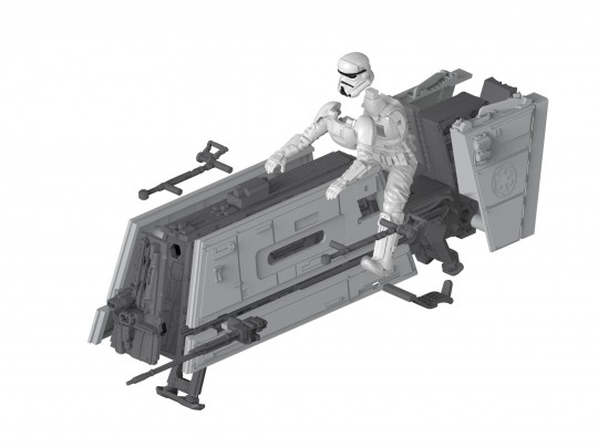 Star Wars Modellbau Imperial Patrol Speeder
