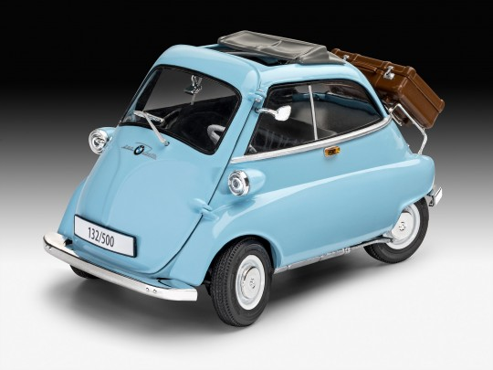 BMW Isetta 250 light blue