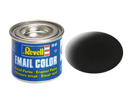 Email Color Schwarz, matt, 14ml, RAL 9011