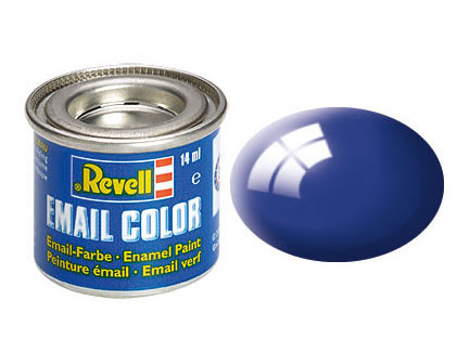 Email Color Ultramarinblau, glänzend, 14ml, RAL 5002