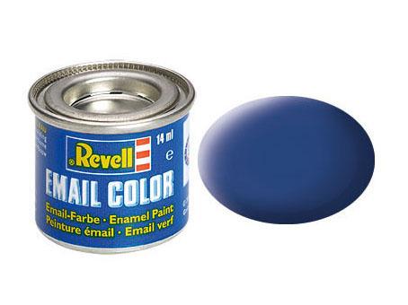 Color blau, matt