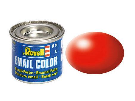 Email Color Leuchtrot, seidenmatt, 14ml, RAL 3024