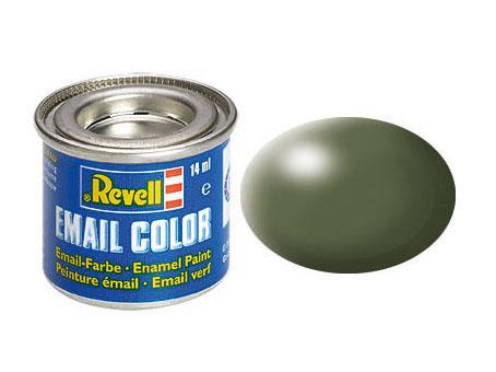 Color olivgrün, seidenmatt