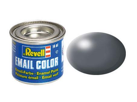 Color dunkelgrau, seidenmatt