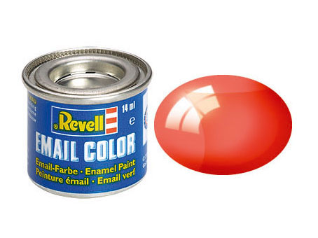 Email Color Rot, klar, 14ml