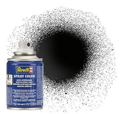 Spray schwarz glänzend 100ml