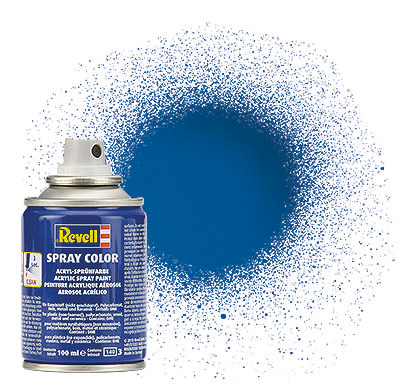 Spray Color Blau, glänzend, 100ml