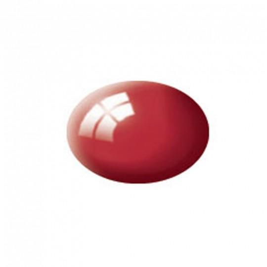 Aqua Color, Italian Red, Gloss, 18ml