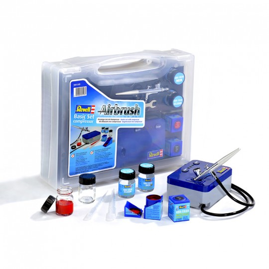 Airbrush Basic Set mit Kompressor