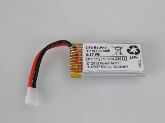LiPo Battery 3.7V/250 mAh(23912)