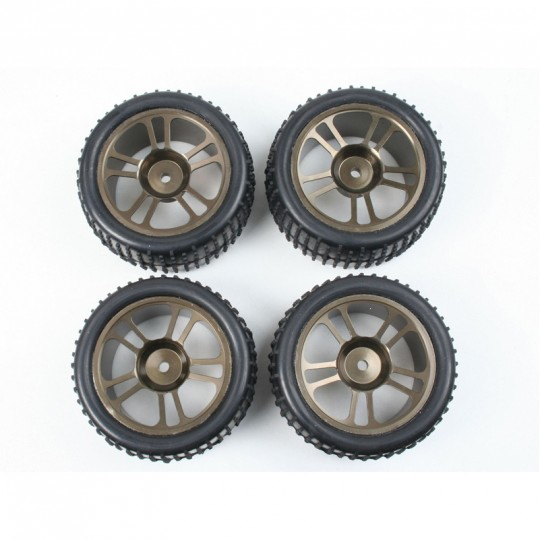 Aluminium-Kompletträder (24504+24505)