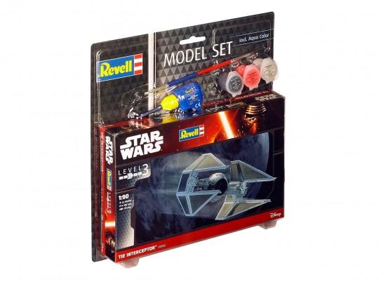 Model Set TIE Interceptor