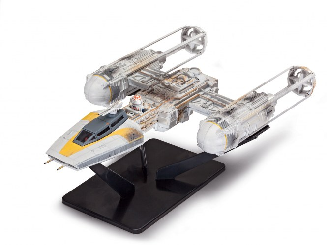 Build & Play Y-Wing Fighter