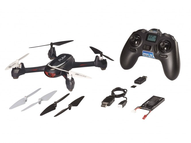 "GPS Quadcopter ""PULSE"""