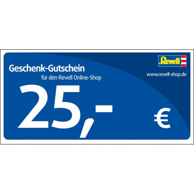 Revell eShop Gutschein 25,00