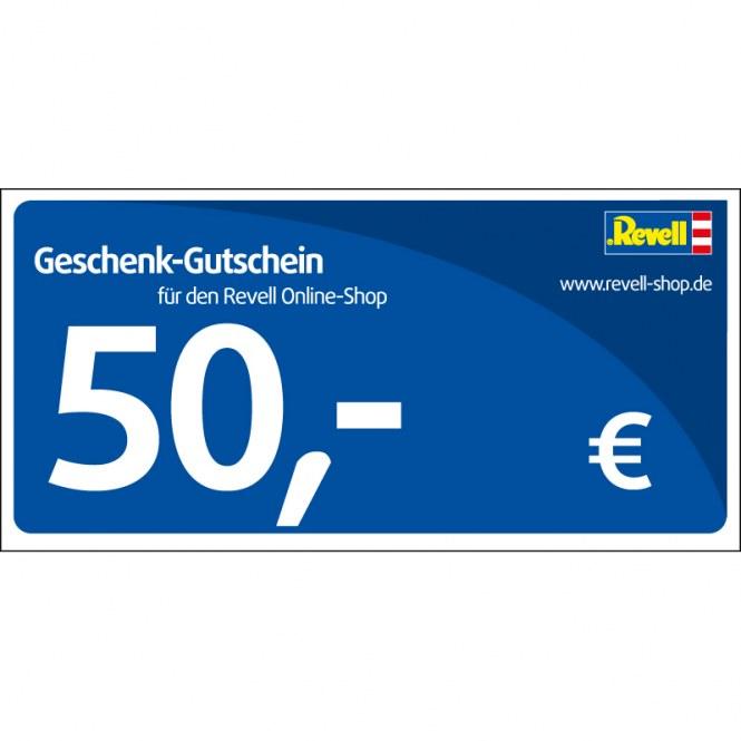 Revell eShop Gutschein 50,00