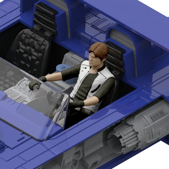 REVELL GmbH 06768 Star Wars Han Solo Imperial Patrol Speeder Build et Play
