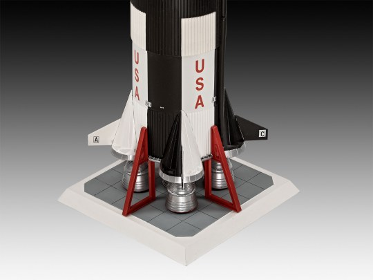 Revell 03704 Revell Apollo 11 Saturn V Rocket 1:96 03704 ++