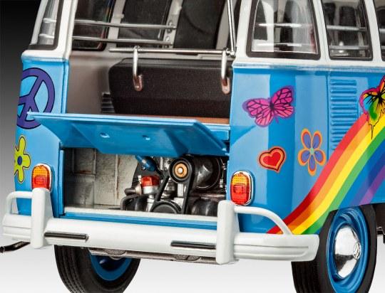 Revell 07050 VW Samba Bus Flower Power Model Kit Car & Truck Kits