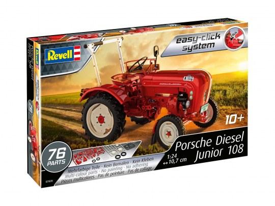 Revell 07820 Porsche Diesel Junior 108 easy-click system Level 2 1:24 NEU//OVP