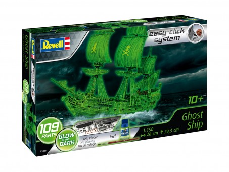 revell ghost ship easy click. Black Bedroom Furniture Sets. Home Design Ideas