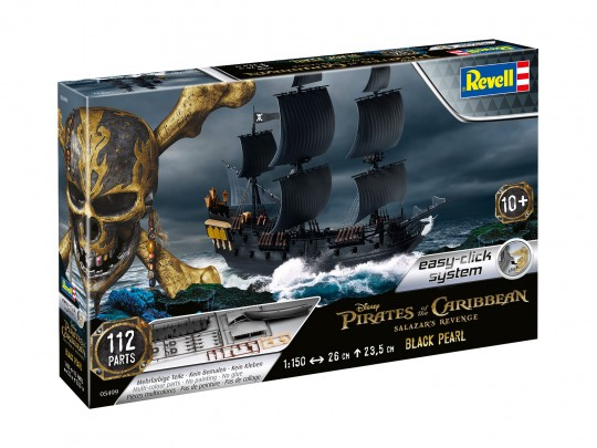 revell modellbau piratenschiff black pearl. Black Bedroom Furniture Sets. Home Design Ideas