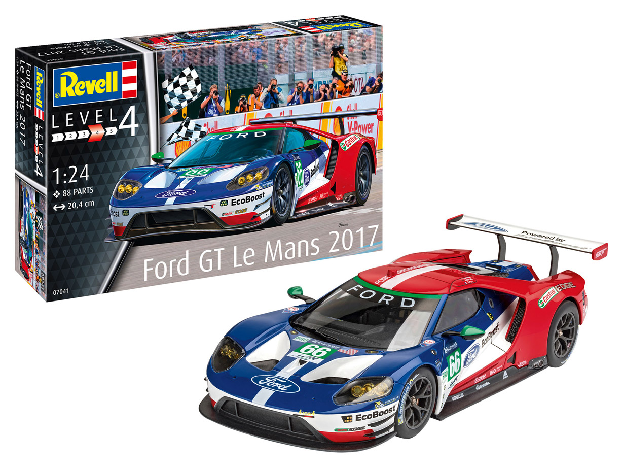 Model Set Ford Gt Le Mans