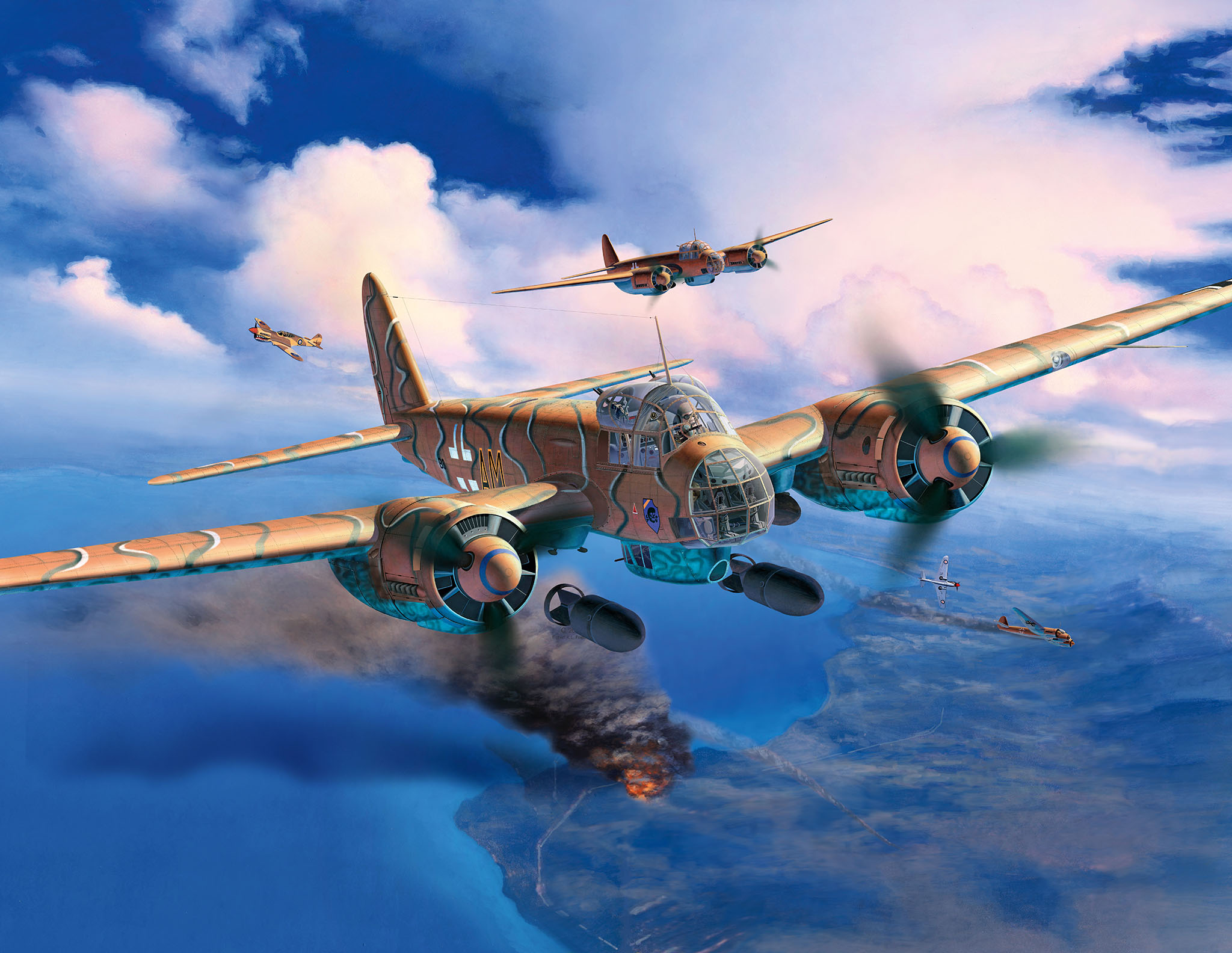 War Planes In Action