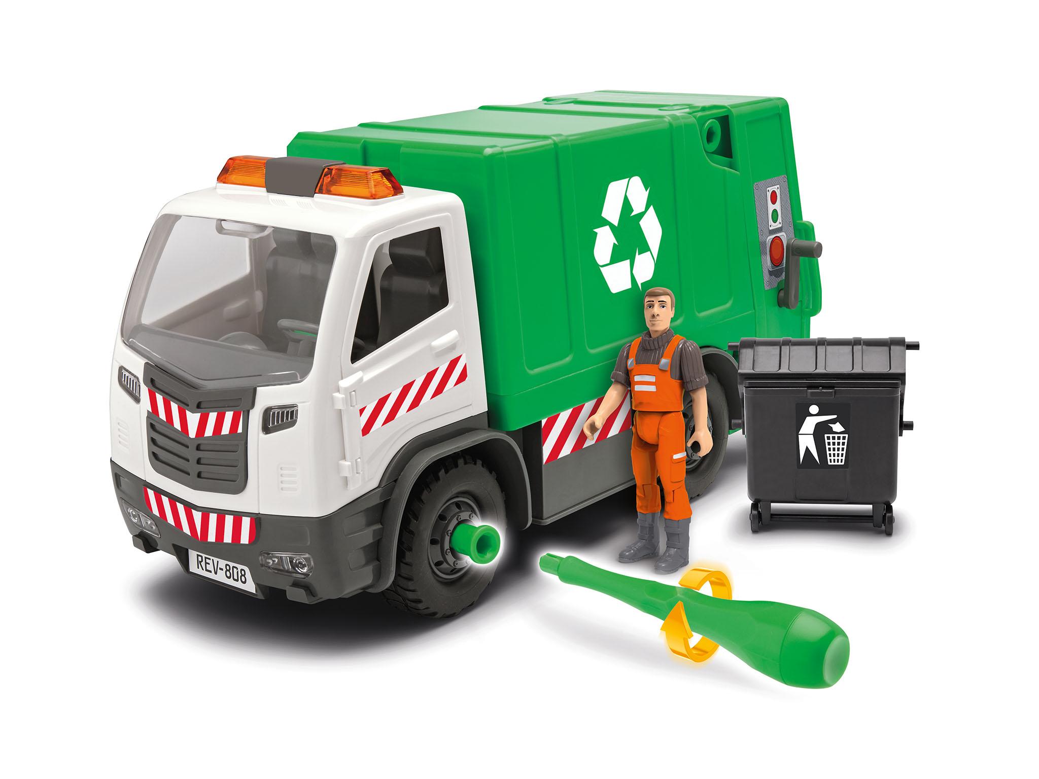 REVELL Garbage Truck Bau- & Konstruktionsspielzeug-Sets