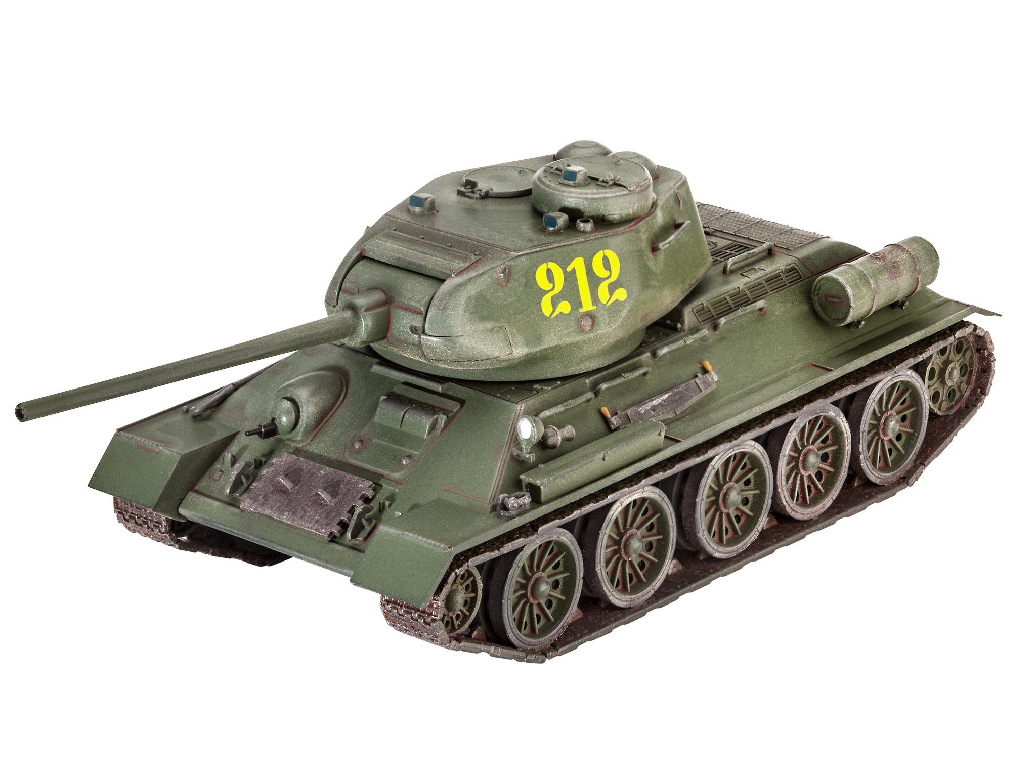 Tracks For Vehicles >> Revell | T-34/85