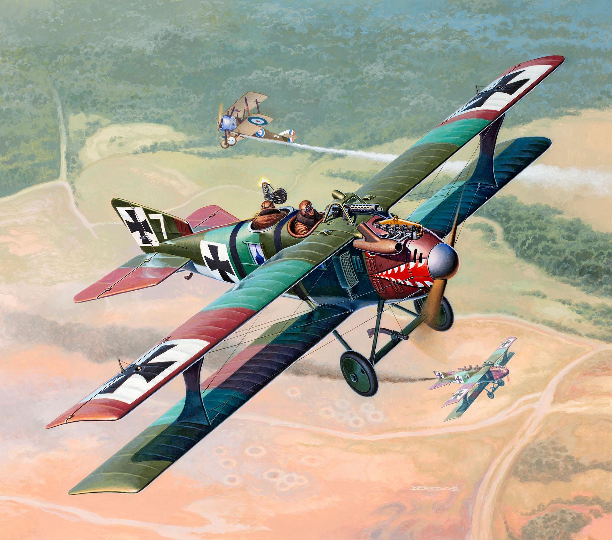 Spray Paint Art Airplanes