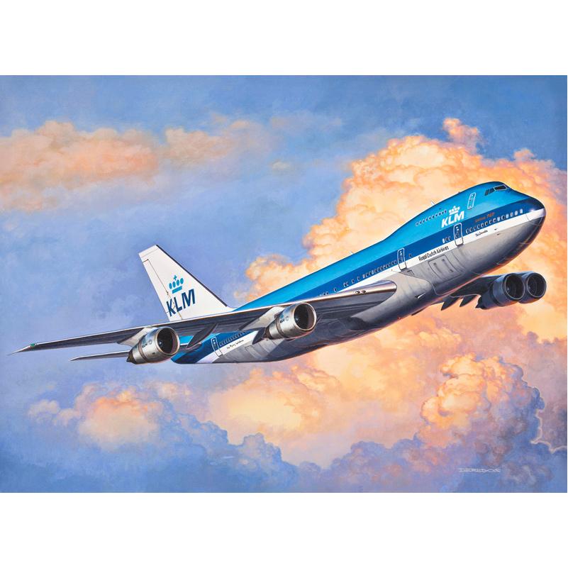 REVELL Model Set Boeing 747-200 Baukästen & Konstruktion