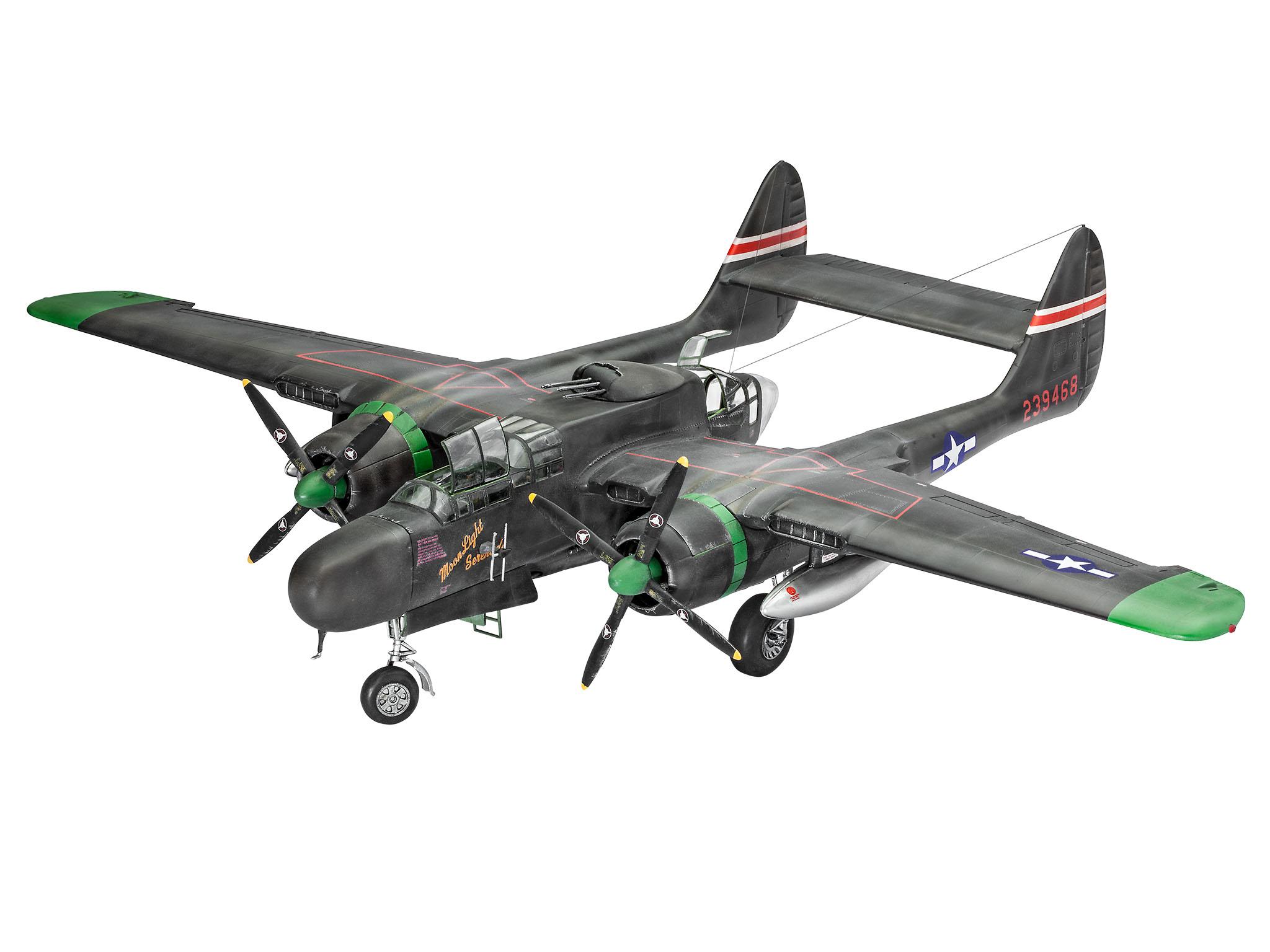 Northrop p 61a b black widow revell shop