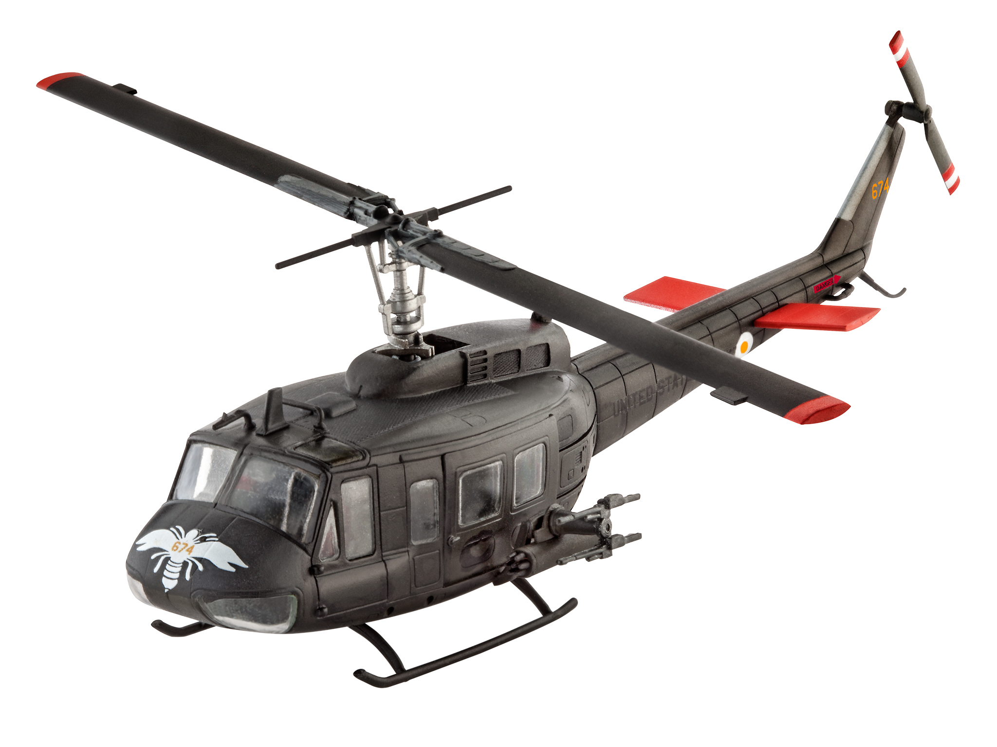 Huey Helicopter For Sale >> Revell | Bell UH-1H Gunship