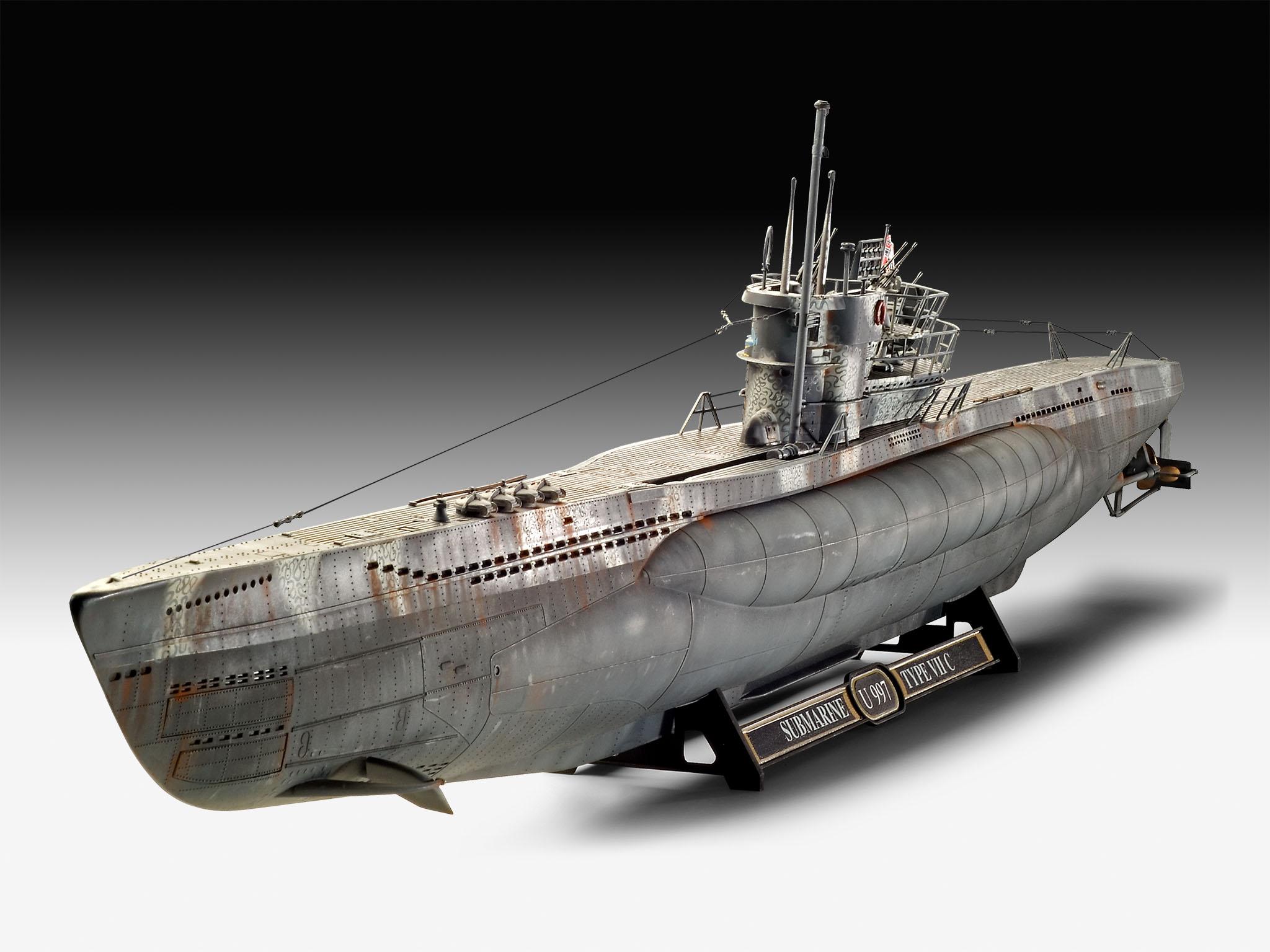 Revell German Submarine Type Vii C 41