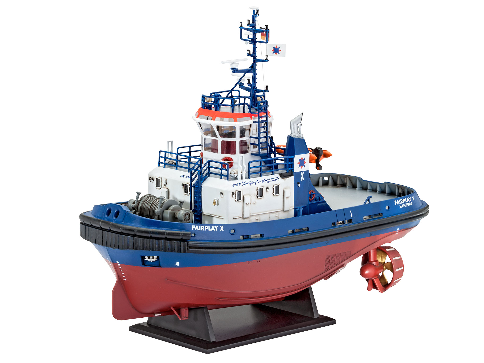 toy boat models with Hafenschlepper Fairplay I Iii X on Hafenschlepper Fairplay I III X as well Tuna Clipper 3d Studio Max besides 262910256679 in addition Manowar together with Download.
