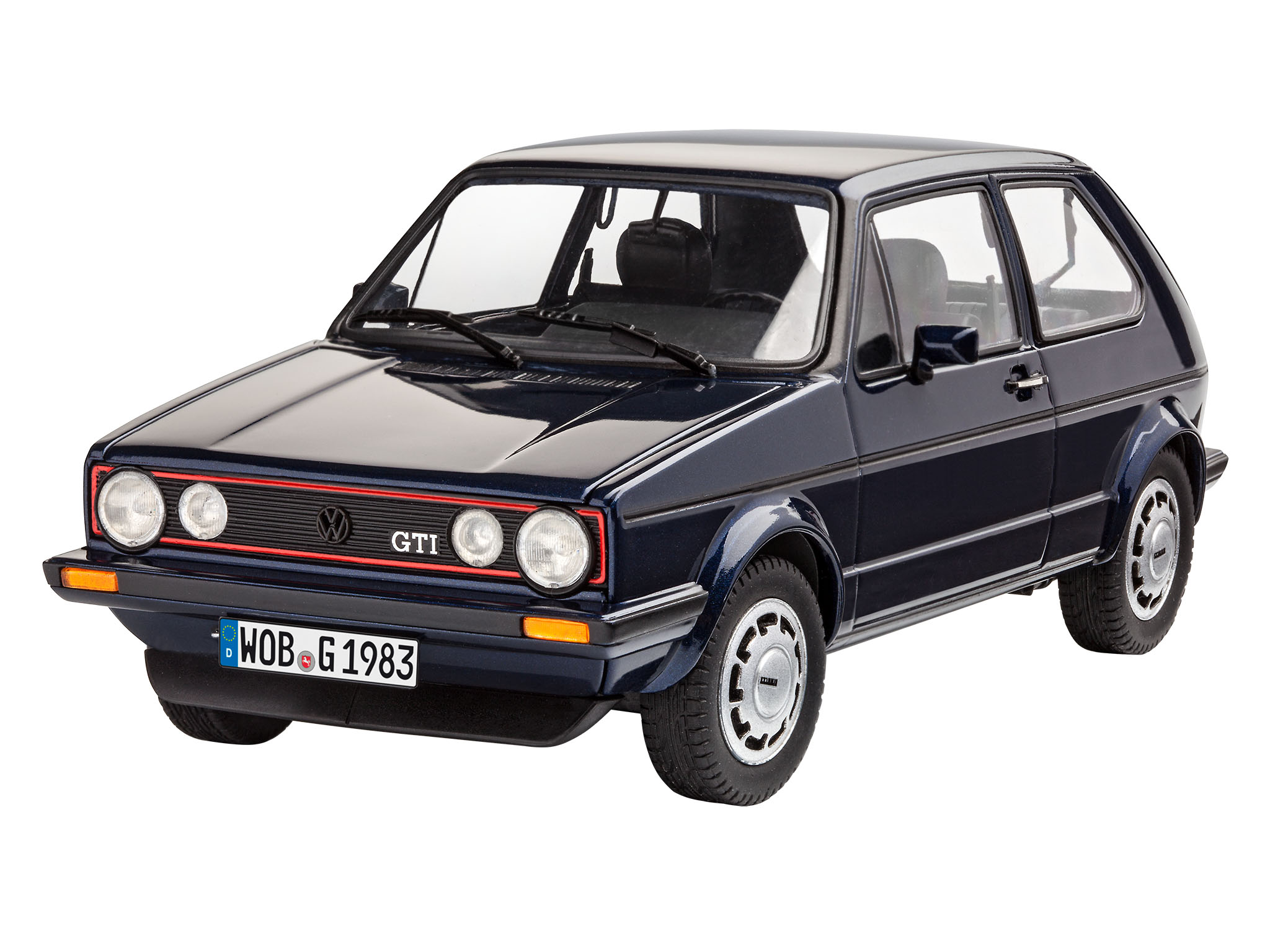 revell 35 years vw golf 1 gti pirelli. Black Bedroom Furniture Sets. Home Design Ideas