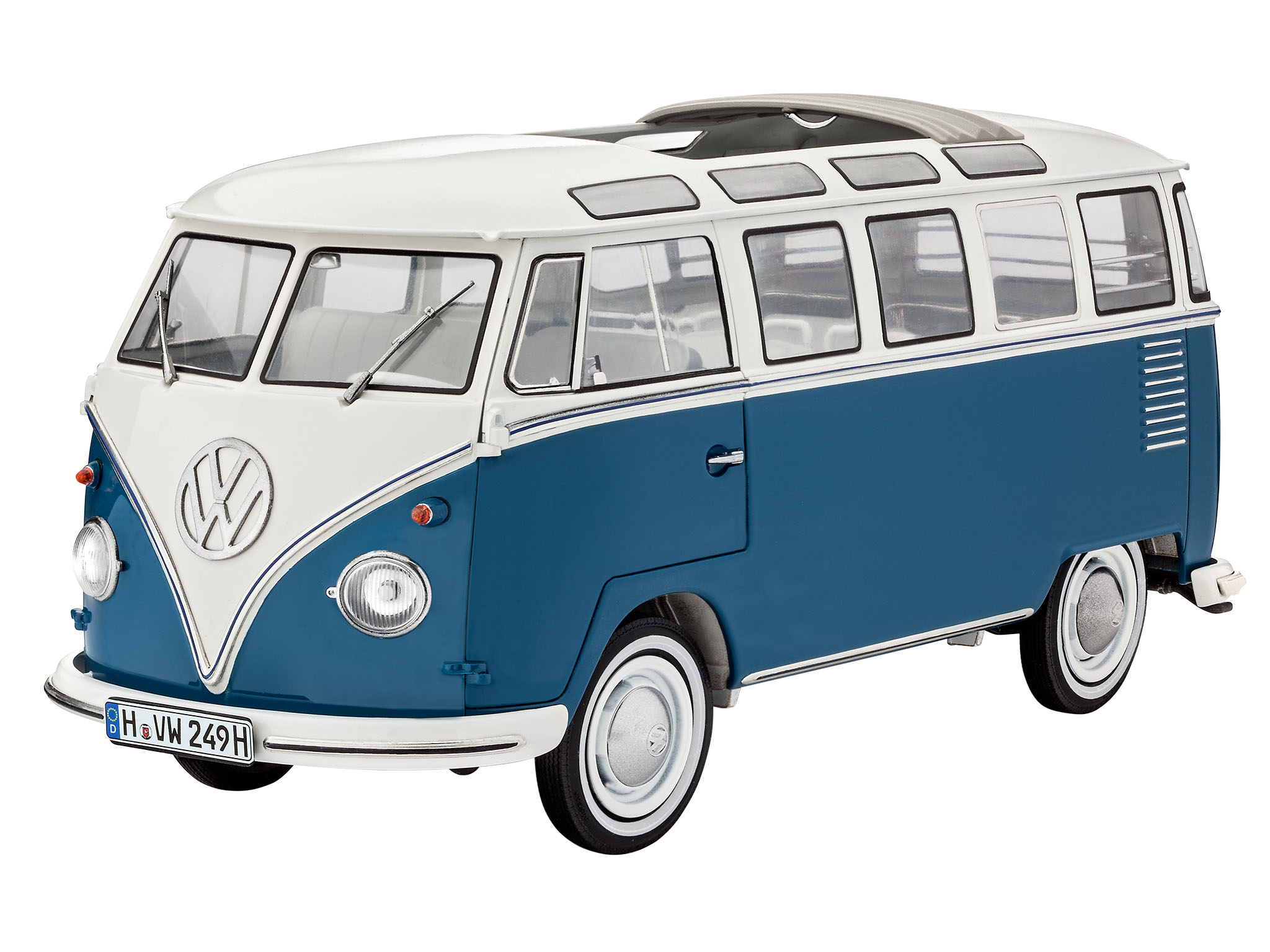 revell shop vw typ 2 t1 samba bus revell shop. Black Bedroom Furniture Sets. Home Design Ideas