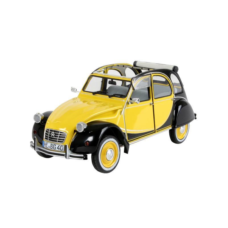 2cv charleston gelb-schwarz kaufen