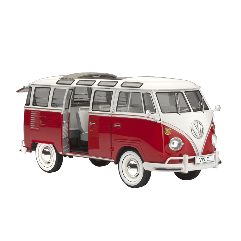 vw t1 samba bus revell shop. Black Bedroom Furniture Sets. Home Design Ideas