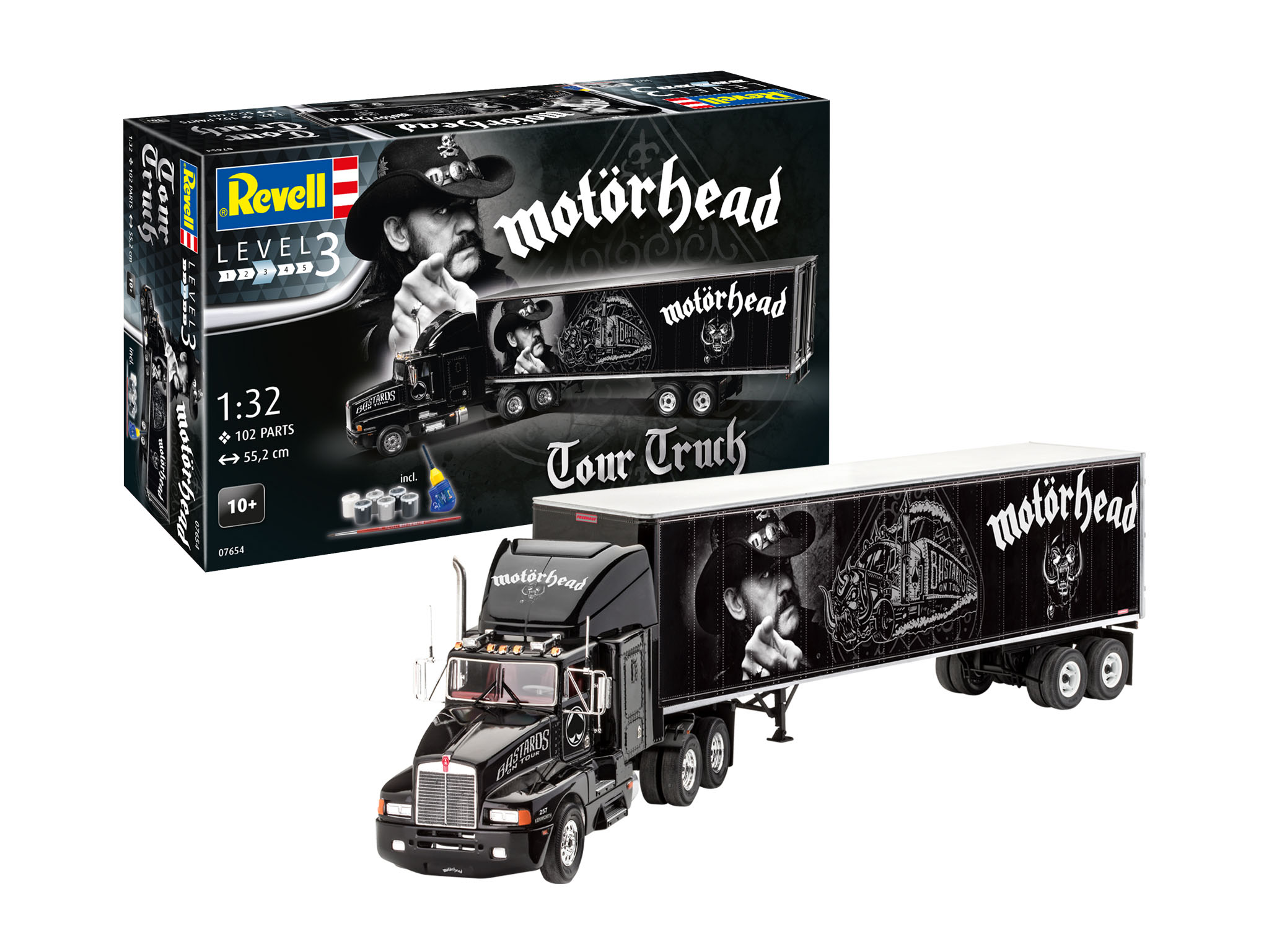 Revell Official Website Of Revell Gmbh Tour Truck Motorhead