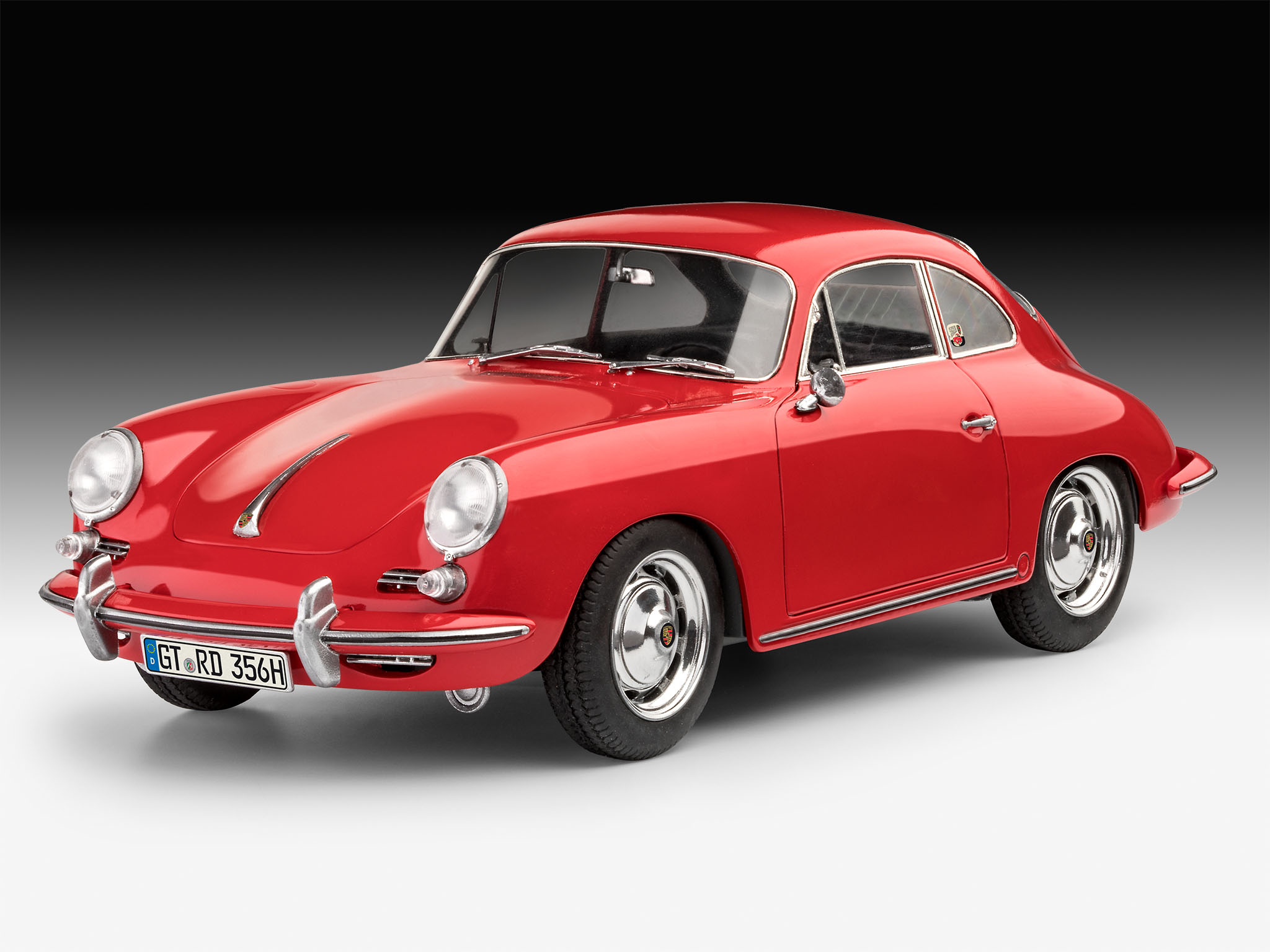 revell porsche 356 coupe. Black Bedroom Furniture Sets. Home Design Ideas