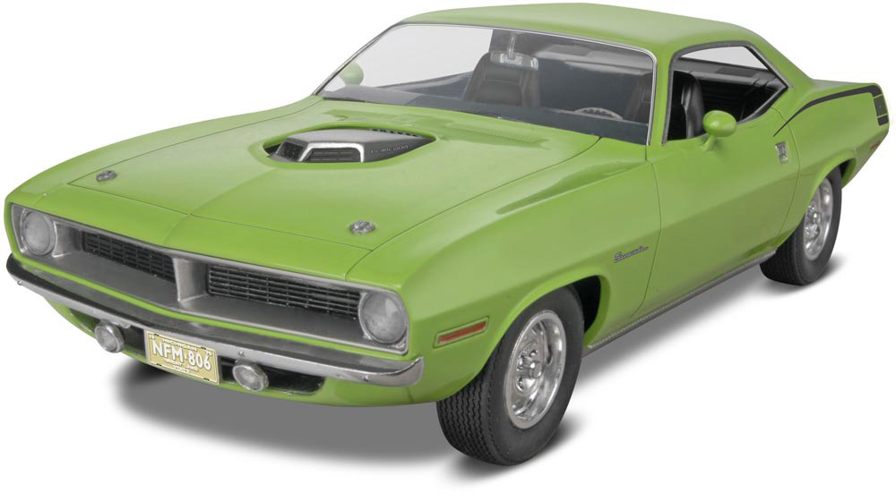Revell Official Website Of Revell Gmbh 1970 Plymouth Hemi Cuda 2n1