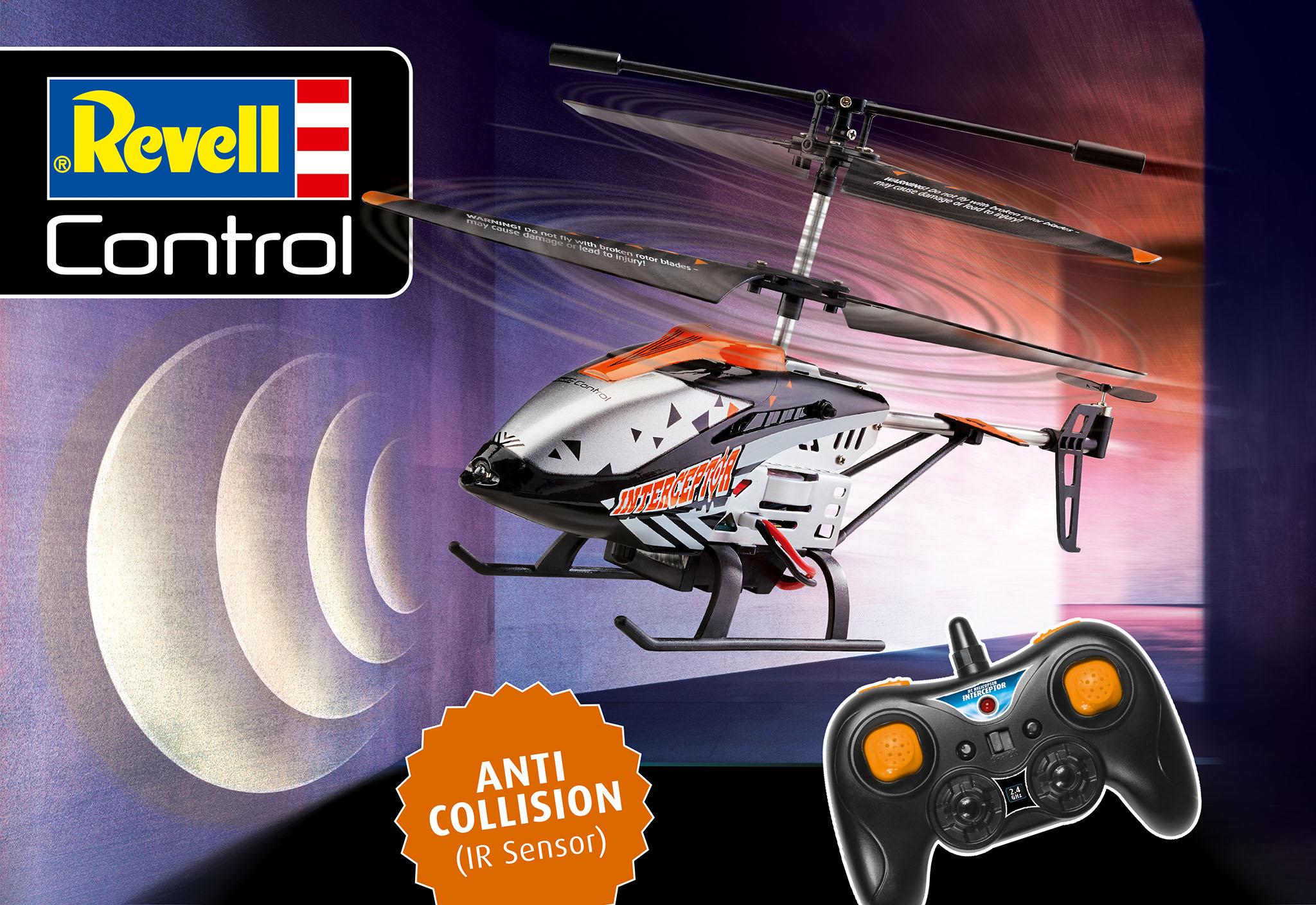 Revell Official Website Of Revell Gmbh Anti Crash Heli Interceptor