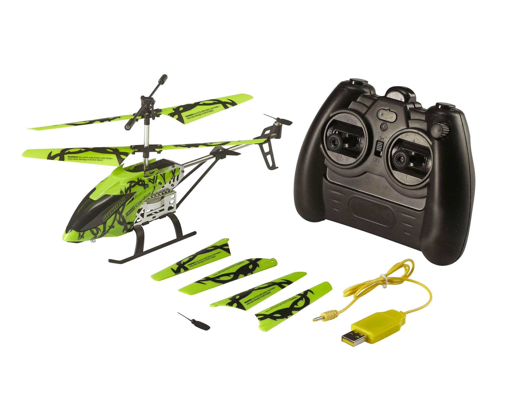 Revell 23940 Helicopter Glowee 2.0 Elektrisches Spielzeug