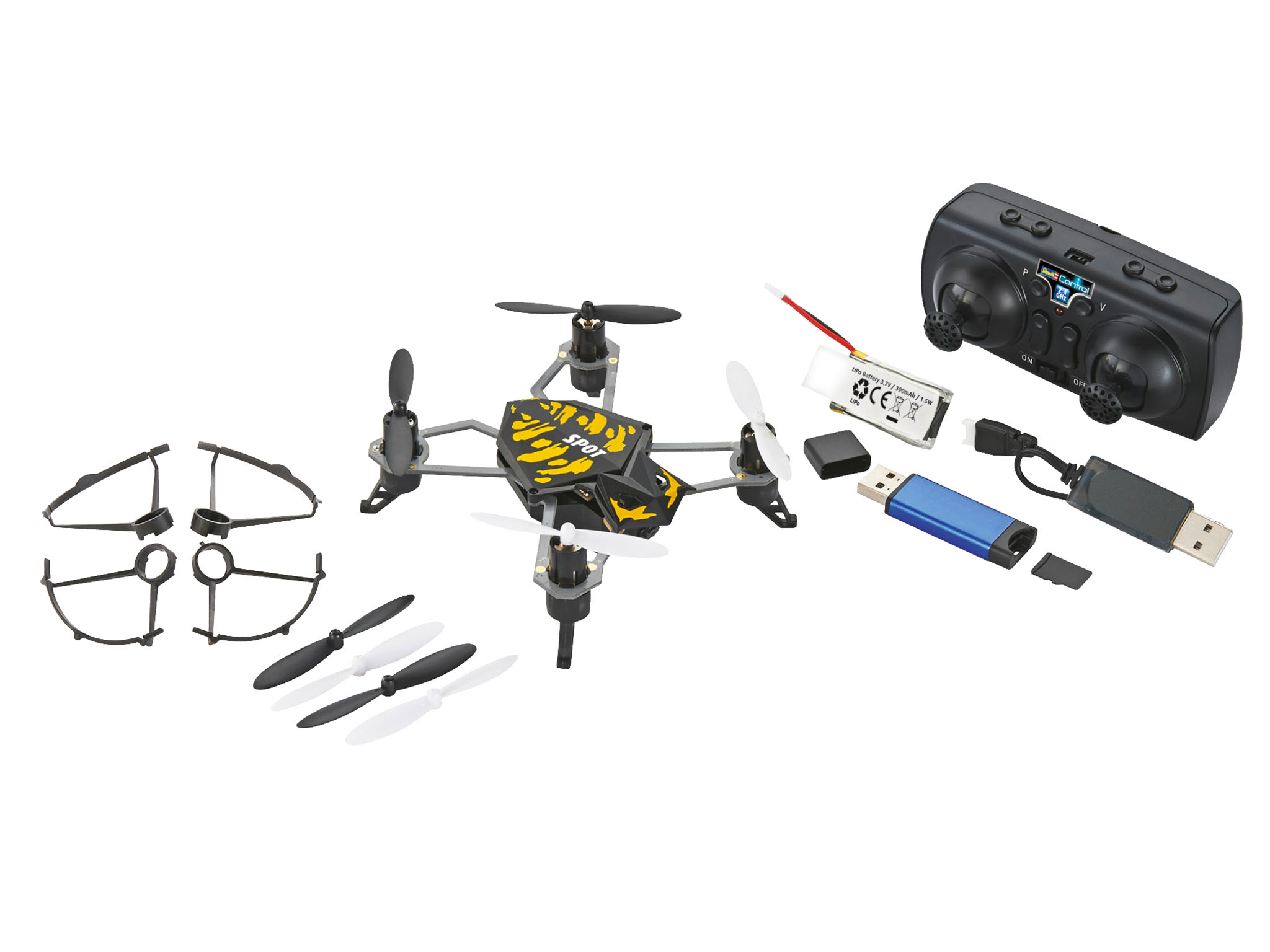 revell kamera quadrocopter spot. Black Bedroom Furniture Sets. Home Design Ideas