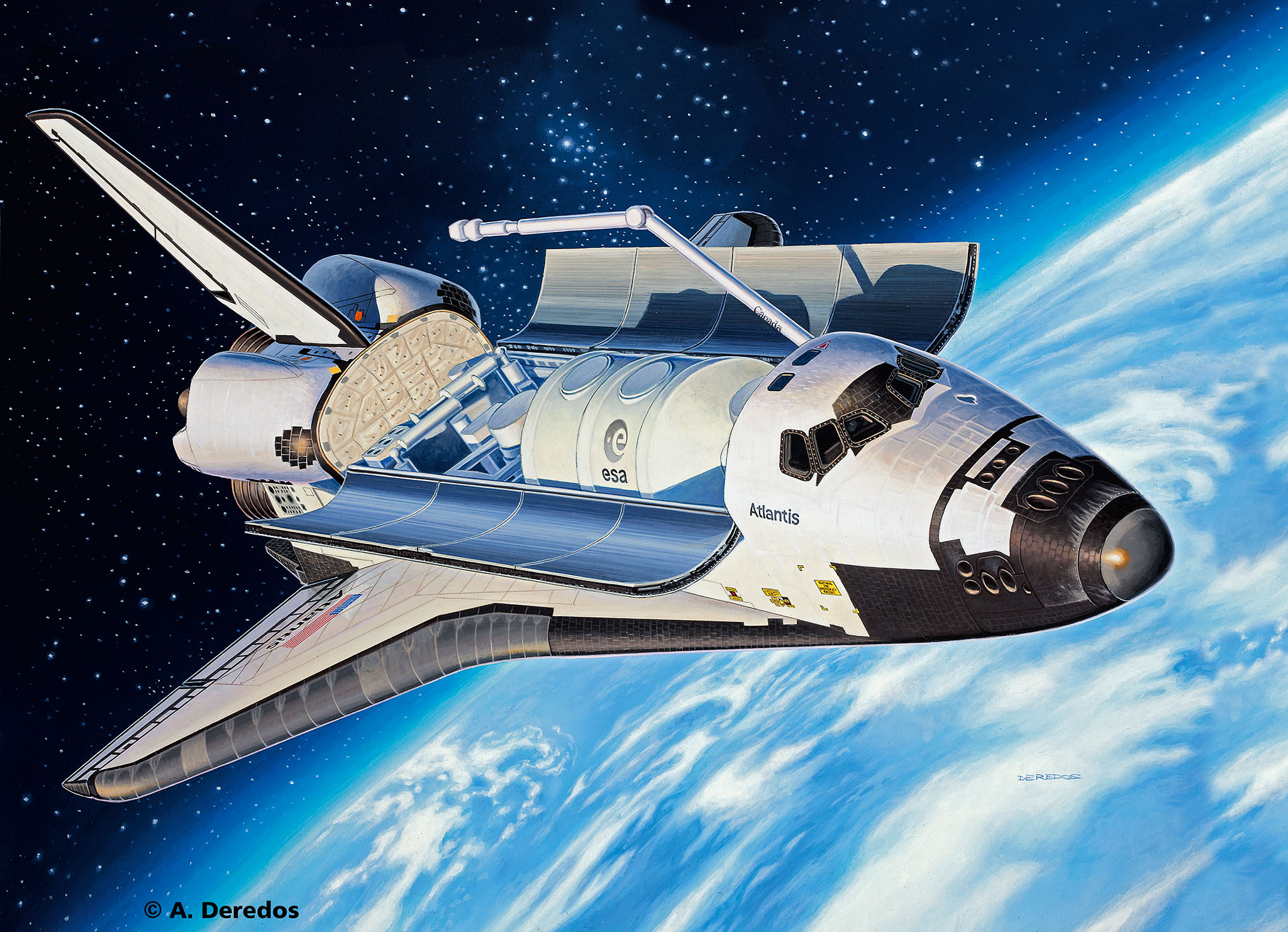Revell Shop | Space Shuttle Atlantis | Revell Shop