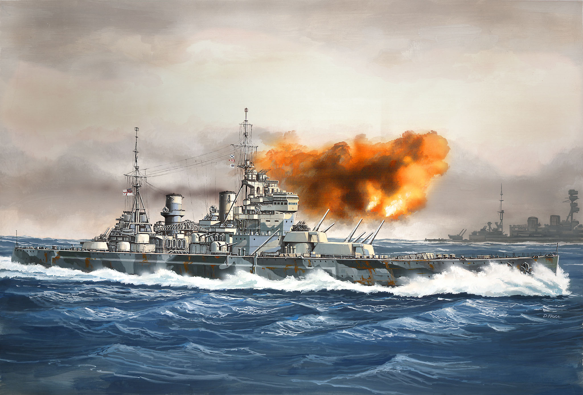 Revell Hms Prince Of Wales   Build